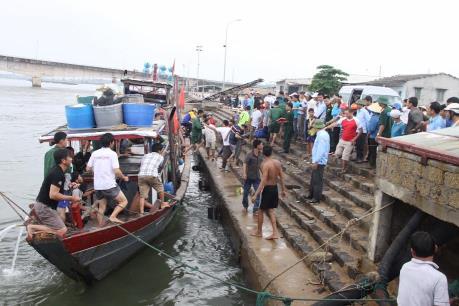 Tin mới nhất về vụ chìm tàu tại khu vực đảo Cồn Cỏ