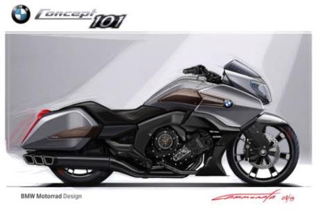 """BMW """"trình làng"""" xe môtô tự cân bằng động"""