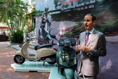 Piaggio ra mắt Vespa Sprint Adventure phiên bản đặc biệt giá 80 triệu đồng