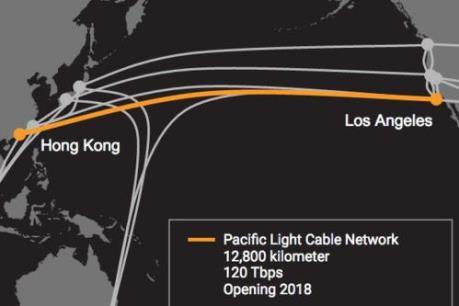 Google, Facebook hợp tác làm tuyến cáp quang kỷ lục nối với châu Á
