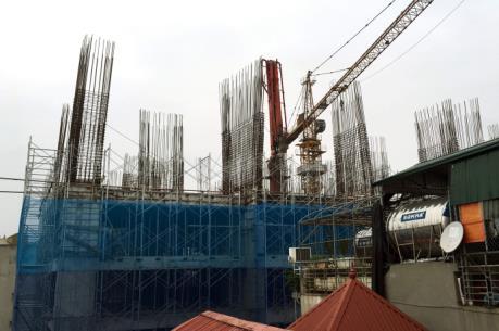 Vụ sập giàn giáo tại Hà Nội: Kiến nghị tạm đình chỉ thi công dự án