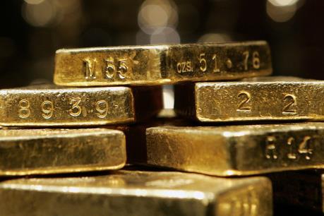 Đồng USD yếu đi, giá vàng tăng nhẹ