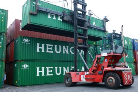 Cảng Hải Phòng liên doanh khai thác dịch vụ logistics với hãng tàu Heung-A