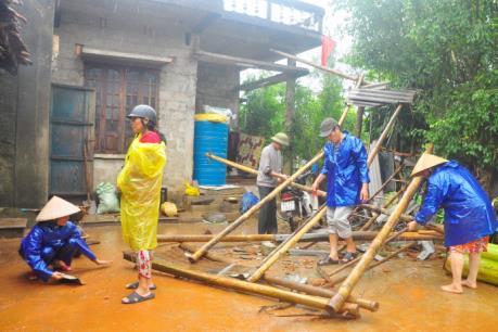 Ảnh hưởng áp thấp nhiệt đới: Quảng Trị nỗ lực khắc phục hậu quả áp thấp nhiệt đới