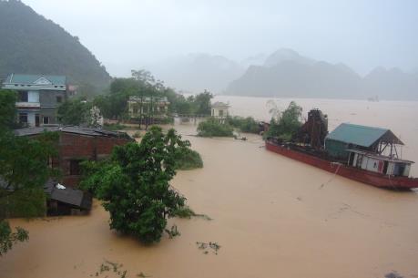 Quảng Bình thiệt hại nặng nề do mưa lớn, lốc xoáy
