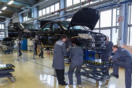 Nga cân nhắc chấm dứt chương trình hỗ trợ ngành chế tạo ô tô