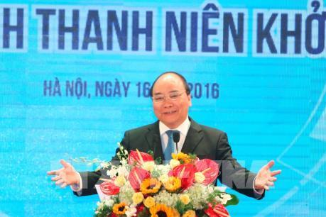 Thủ tướng Nguyễn Xuân Phúc: Chưa bao giờ khởi nghiệp có điều kiện thuận lợi như lúc này