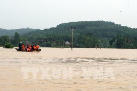 Đợt lũ trên các sông từ Nghệ An đến Ninh Thuận kéo dài đến ngày 5/11