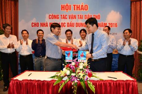PV Trans và BSR ký hợp tác vận tải dầu thô giai đoạn mới
