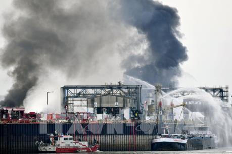 Nổ lớn tại nhà máy hóa chất ở Đức