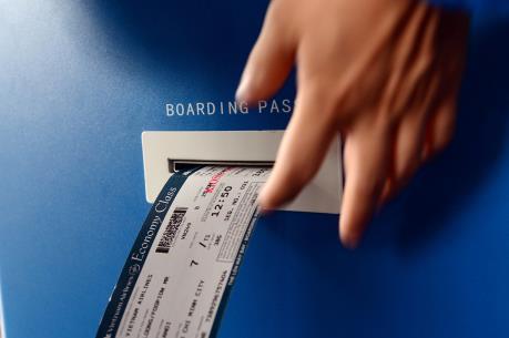 Lần đầu tiên triển khai dịch vụ kiosk check-in đối với các chuyến bay quốc tế