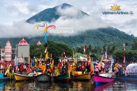 Đến Indonesia với mức giá ưu đãi từ Vietnam Airlines