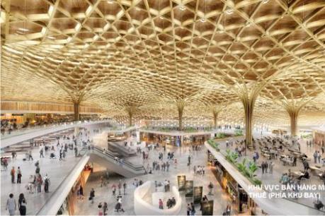 Lấy ý kiến phương án kiến trúc nhà ga Cảng hàng không quốc tế Long Thành