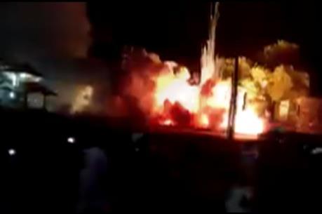 Ấn Độ: Hỏa hoạn tại nhà máy sản xuất pháo hoa gây thương vong lớn