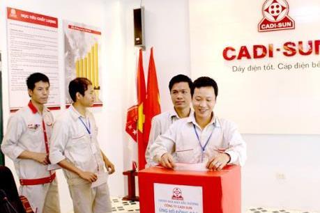 CADI-SUN quyên góp ủng hộ đồng bào vùng lũ miền Trung hơn 400 triệu đồng