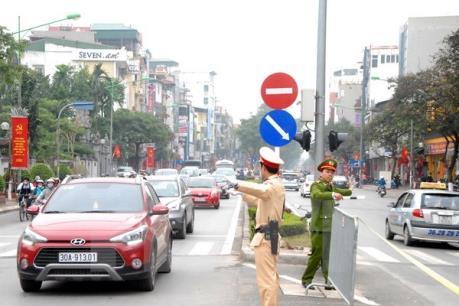 Phân luồng giao thông phục vụ các hội nghị cấp cao diễn ra tại Hà Nội