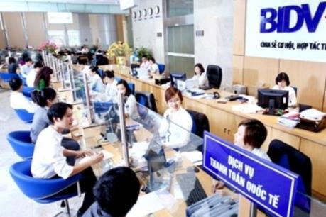 BIDV sẽ chi trả cổ tức theo tỷ lệ 8,5%/cổ phiếu bằng tiền mặt