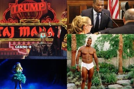 Không thể tin Lady Gaga, Lindsay Lohan, Mike Tyson có thể phá sản