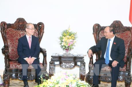 Thủ tướng Nguyễn Xuân Phúc tiếp Chủ tịch Ủy ban liên Chính phủ về biến đổi khí hậu