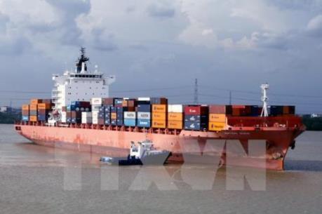 Sản lượng hàng hóa vận chuyển bằng tàu sông pha biển tăng hơn 2 lần