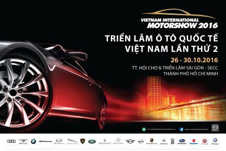 Hơn 150 mẫu xe được giới thiệu tại Triển lãm ô tô quốc tế Việt Nam 2016