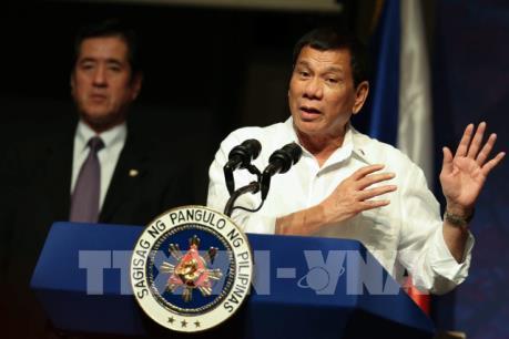 """Tổng thống Duterte: Nhật Bản là một """"đồng minh lâu năm"""" của Philippines"""
