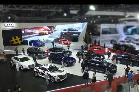 Audi trưng bày 12 mẫu xe tại triển lãm Ô tô Quốc tế Việt Nam