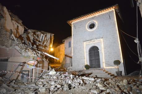 Chính phủ Italy chi 40 triệu euro khắc phục hậu quả trận động đất kép