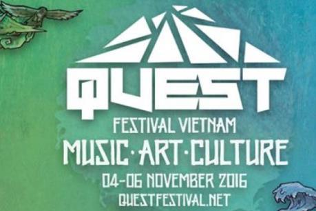 Vietjet đồng hành cùng Lễ hội âm nhạc Quest Festival 2016