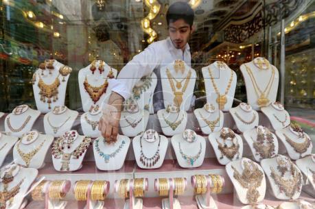Giá vàng tăng trên thị trường châu Á