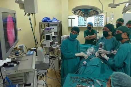 Bệnh viện Xanh Pôn ứng dụng kỹ thuật mới trong phẫu thuật u tuyến yên