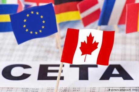 CETA sẽ được ký kết vào ngày 30/10 tại Brussels