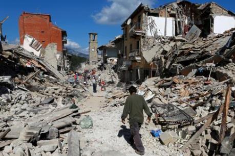Italy: CGR cảnh báo nguy cơ thêm nhiều trận động đất mạnh trong thời gian tới