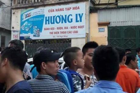 Bắt khẩn cấp nghi phạm cướp của cứa cổ chủ tiệm tạp hóa ở phố Ngũ Nhạc, Hà Nội