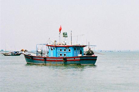 Tàu SAR 274 đã đưa ngư dân gặp nạn vào đất liền