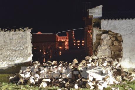 Động đất 6,6 độ Richter gây rung động khu vực miền Trung, Italy
