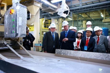 Bộ trưởng Bộ Ngoại giao Đức sang thăm và làm việc tại Việt Nam