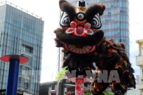 Độc đáo lễ hội liên hoan Lân – Sư – Rồng