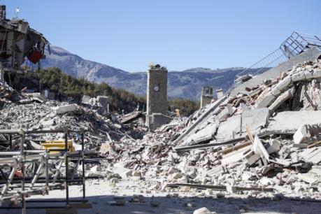 Động đất tại miền Trung Italy: Phát hiện nhiều người bị thương