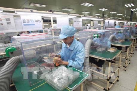 Chỉ số sản xuất công nghiệp 10 tháng tăng nhẹ
