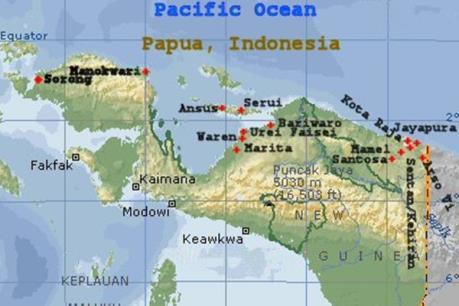 Máy bay chở hàng mất tích ở miền Đông Indonesia