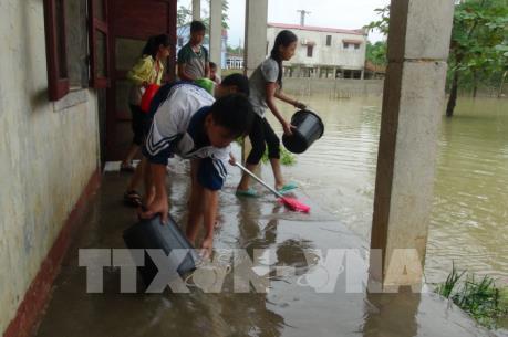 Miễn, giảm học phí với học sinh, sinh viên bị ảnh hưởng mưa lũ