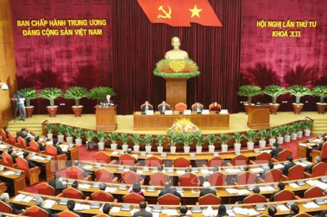 Nghị quyết Hội nghị lần thứ IV BCHTW Đảng khóa XII về tăng cường xây dựng, chỉnh đốn Đảng