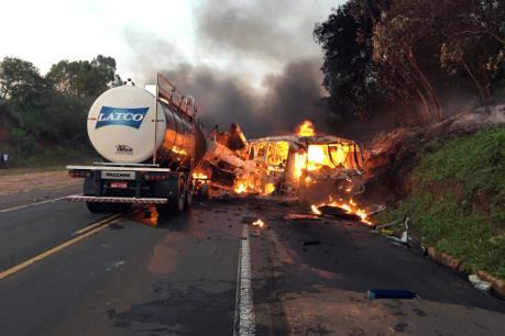 Brazil: Tại nạn giao thông nghiêm trọng khiến 20 người thiệt mạng