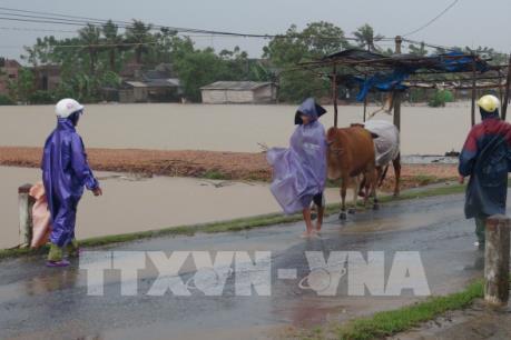 Dự báo thời tiết ngày mai: Tiếp tục có mưa to tại các tỉnh miền Trung
