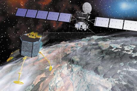 Tàu vũ trụ Rosetta hoàn tất sứ mệnh thám hiểm Sao Chổi