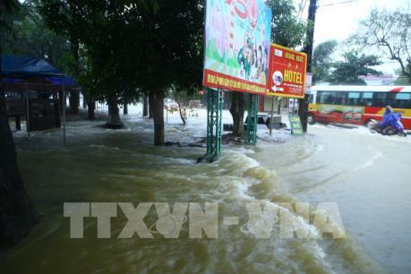 Mưa lớn gây ngập lụt cục bộ nhiều nơi tại Đắk Lắk, 1 người tử vong