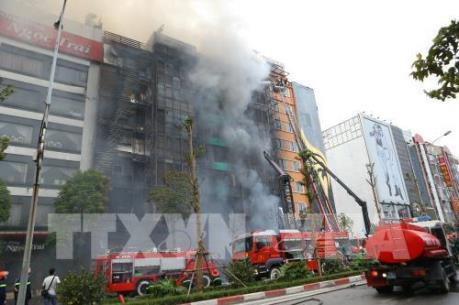 Thủ tướng chỉ đạo làm rõ nguyên nhân vụ cháy quán Karaoke trên đường Trần Thái Tông
