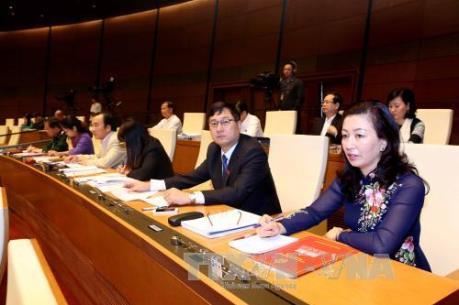 Kỳ họp thứ 2, Quốc hội khóa XIV: Đánh giá cao sự điều hành, chỉ đạo của Chính phủ