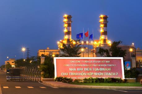 Điện Nhơn Trạch 2 sản xuất 1,35 tỷ kWh điện trong Quý IV